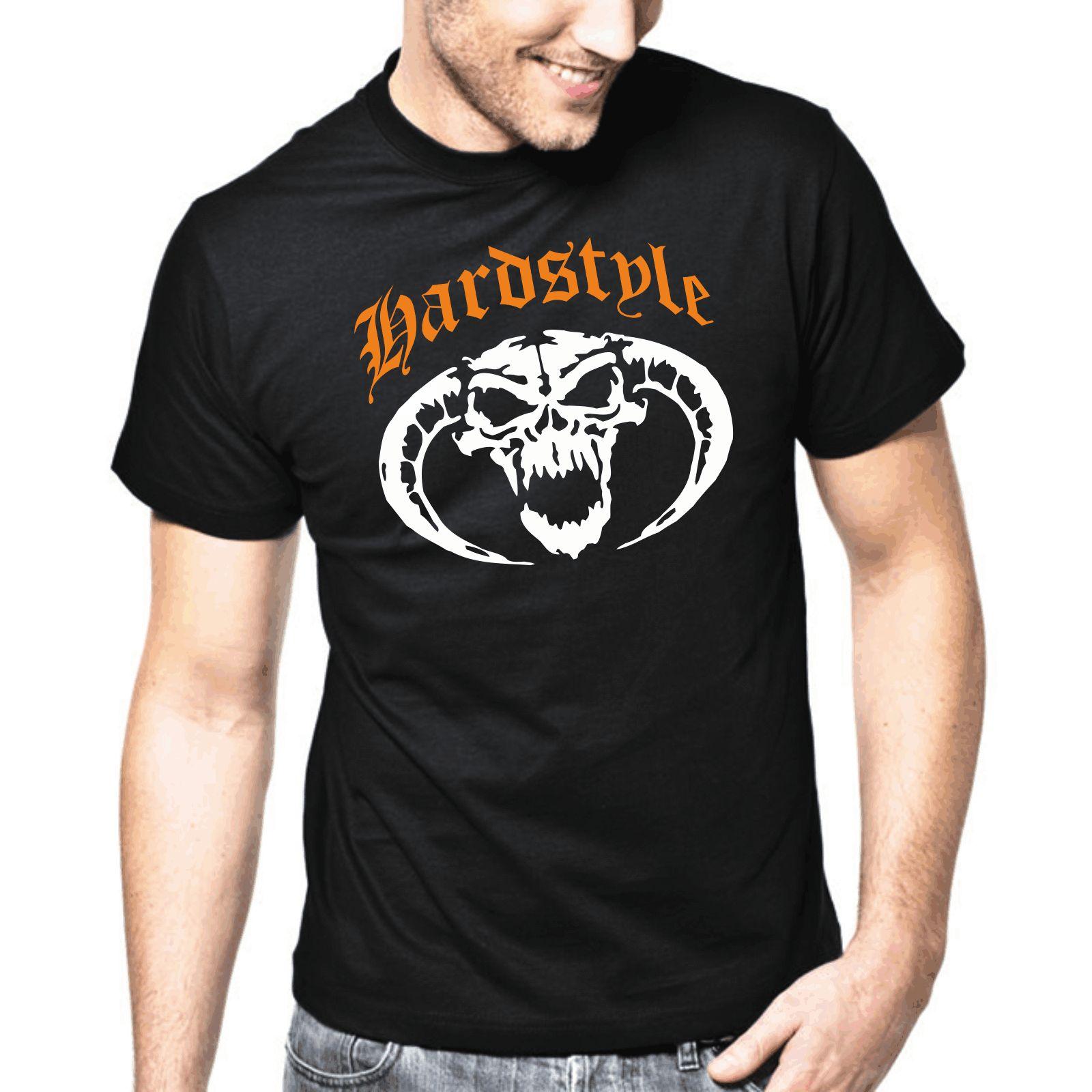 70dbc9b62d1980 Hardstyle Skull Gabber Hardcore Totenkopf Music Dj S Xxl T Shirt Tee Shirt  A Day Shop T Shirt Online From Fuyastore, $24.2| DHgate.Com