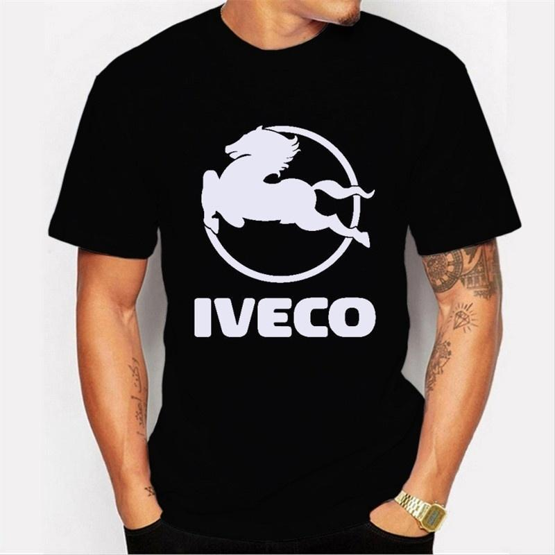 baf740d98 2017 Newest Novelty Men Gentleman Fashion Horse IVECO Letters Shirt Design T  Tops Custom Printed Short Sleeve Tees Humor T Shirts Funky T Shirt From ...