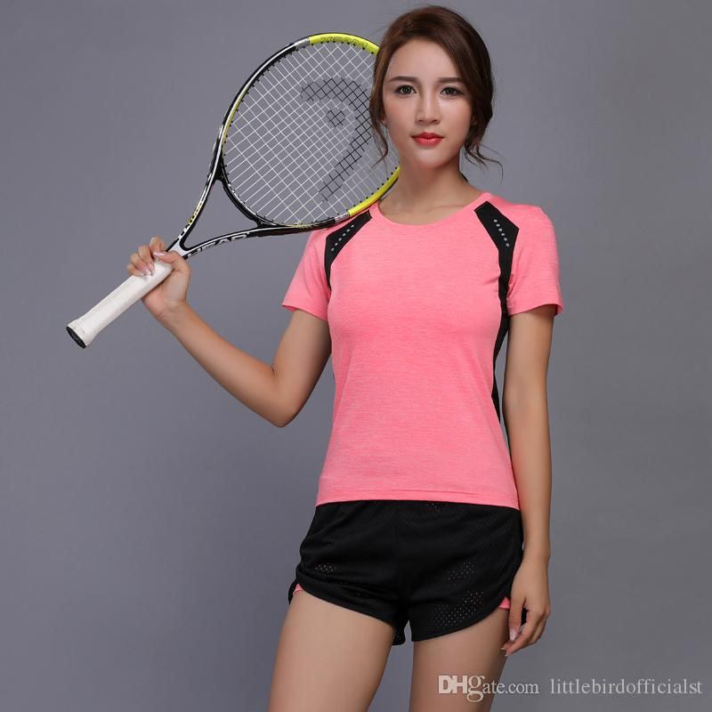 2019 women tennis clothes yoga set badminton clothing