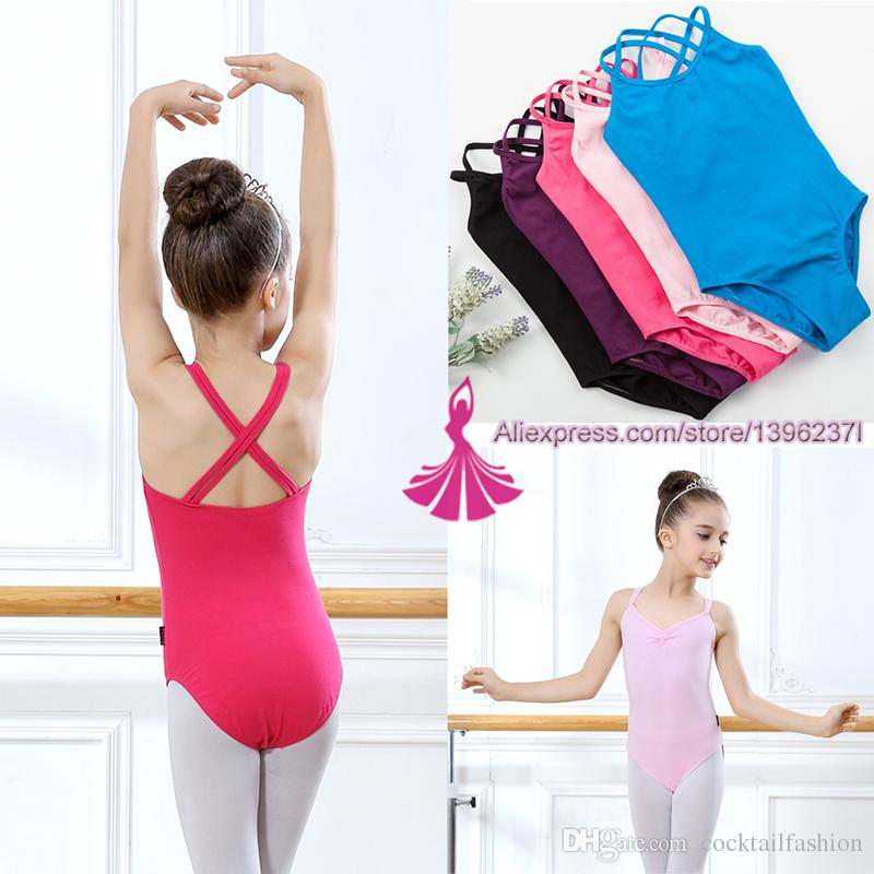 28df3ed2a70a 2019 Gymnastics Leotard For Girls 2018 New Arrival Summer Sleeveless ...