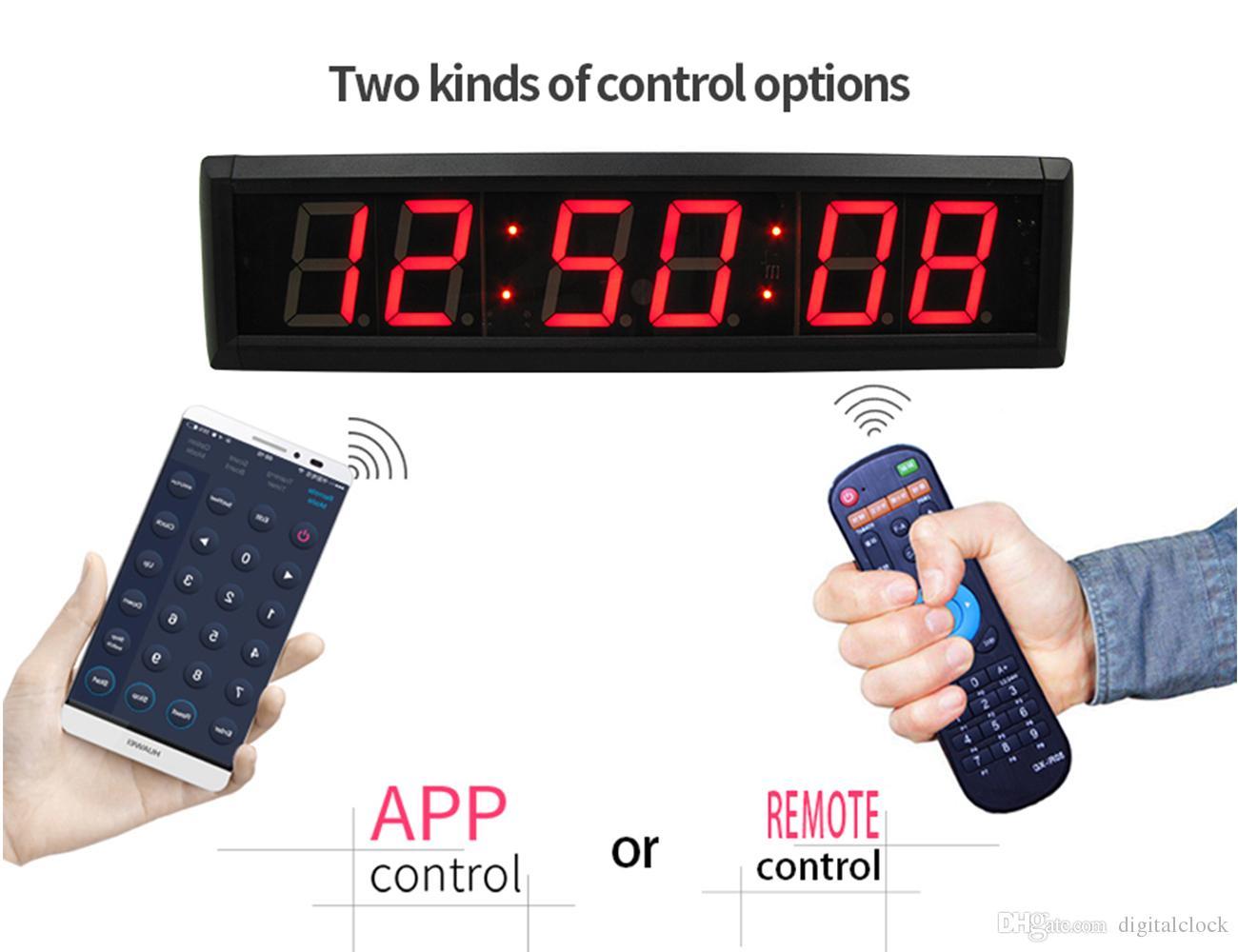 Ganxin 23 Inch 6 Digit 7 Segment Digital Led Clock Module Home