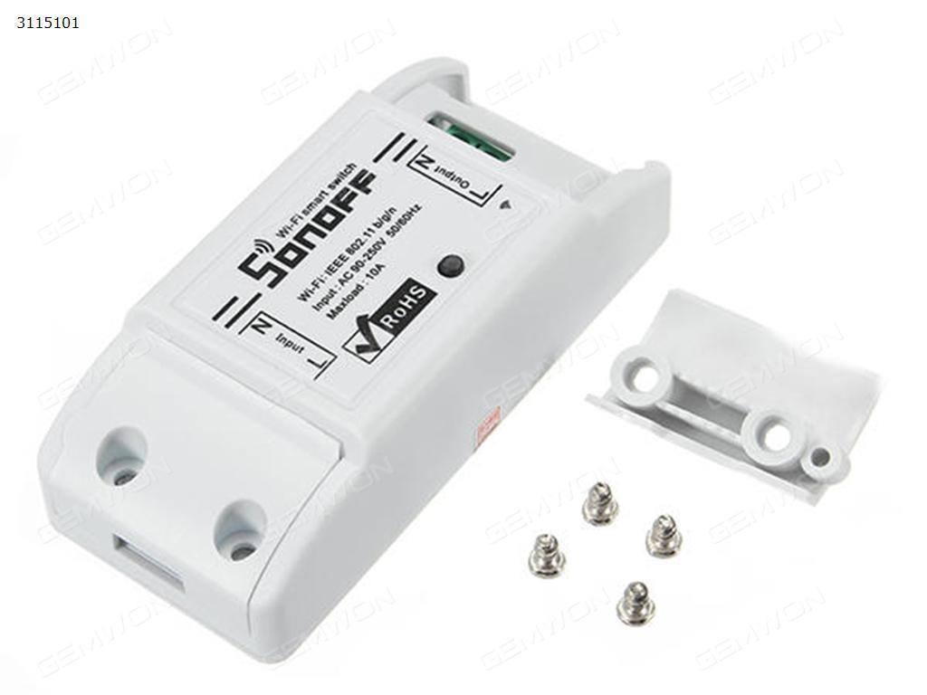 Original Itead Sonoff Basic Wi-Fi Smart Switch Module DIY Wireless ...