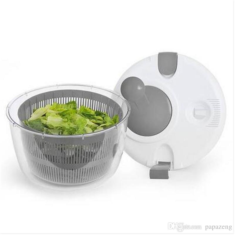 Wholesales Salad Spinner Easy Lettuce Herb Rinsing Drying and Prep Salad Tools Kitchen Tools