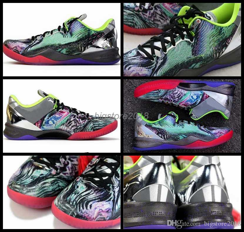 new concept a4def 6e7c7 2018 Air New Kobe 8 VIII Men Basketball Shoes Kb 8s Sneakers Mens Basket  Ball Trainers Man Athletics Sport Shoes 40 46 Canada 2019 From  Bigstore2018, ...