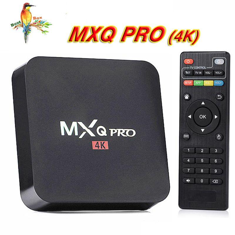Ott Tv Box Mxq Pro 4k