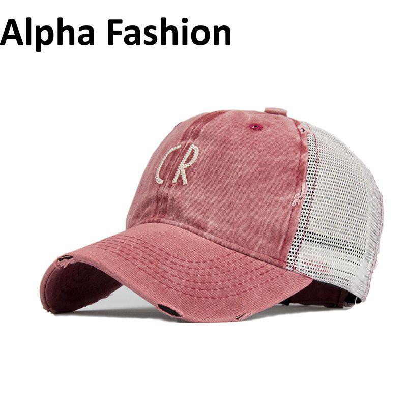 77332270545 Alpha Fashion Summer Sport Mesh Cap For Men Women Embroidery Letter Baseball  Cap Outdoor Sun Hat Casual Girl Hats Adjustable D18110601 Cap Shop Flexfit  Caps ...