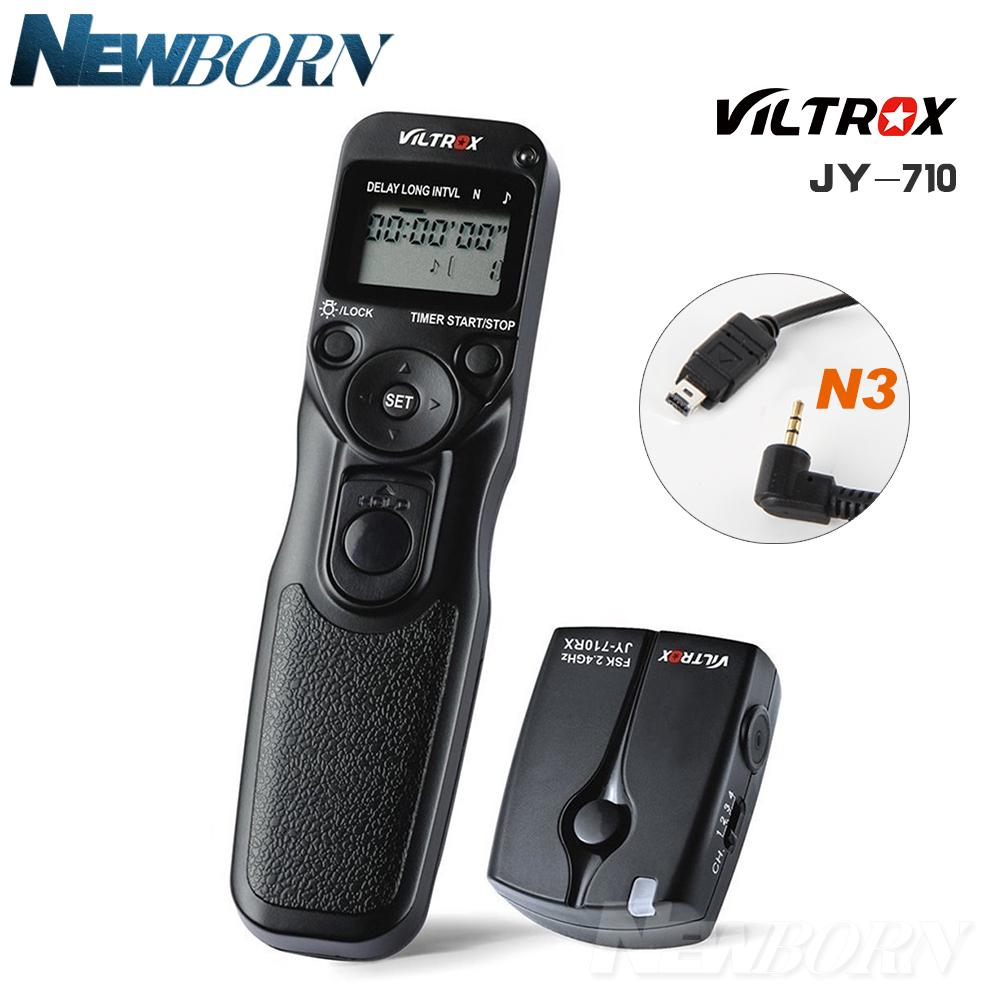 Wireless Timer Remote For Nikon D7500 D7200 D7100 D7000 D5600 D5500 D5300  D5200 D5100 D3300 D3200 D3100 D750 D610 D600 DF MC-DC2