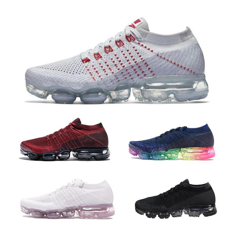 check out 30b6e e2bd9 Acquista Top Air Running Shoes Uomo Donna ⠀ Vapormax Classic Outdoor Off  Run Shoes Nero Bianco Sport Jogging Walking Hiking Sport Athletic Sneakers  A  69.9 ...