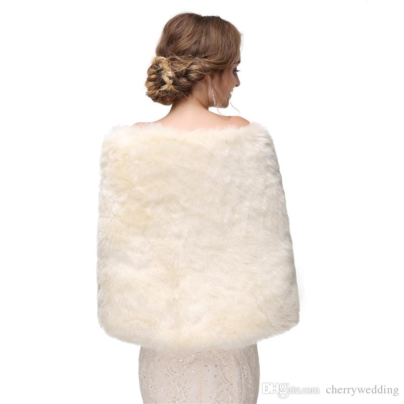 12c7dac1d CMS09 Bridal fur stole Vintage stole faux fur Winter Wedding Coat bridal shawl  wrap fur, bridal stole, wedding stole, faux fur cape