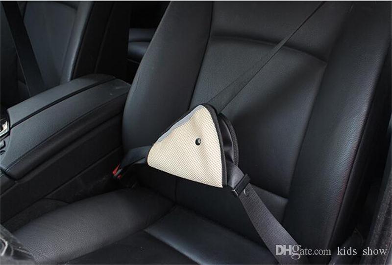 Supporto cintura di sicurezza auto bambini Triangle Coperchio di protezione seggiolino bambini Resistente al rasoio Regolatore seggiolino auto Estensore cintura