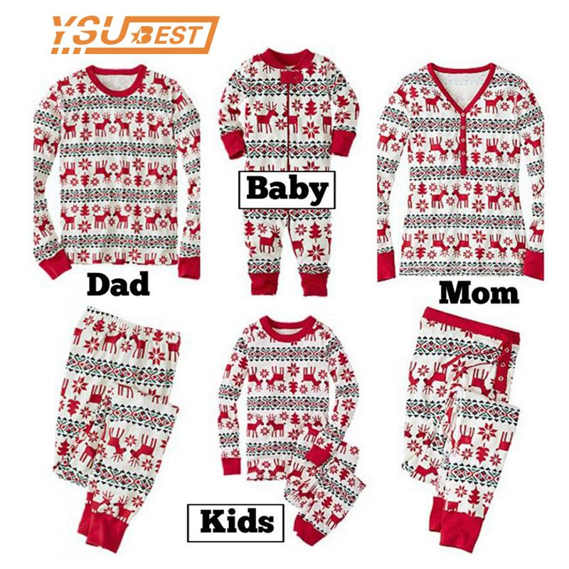 New Family Christmas Pajama Family Matching Clothes Matching Mother  Daughter Clothes Fashion Father Son Mon New Year Look Mother Daughter  Outfits Matching ... d566c59f0