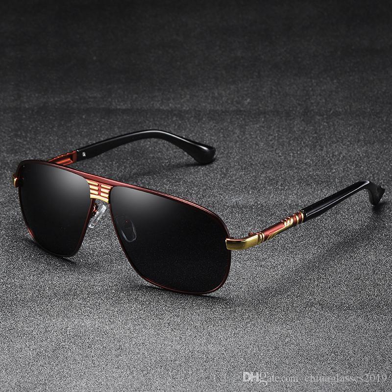 59c0c4de27 Classic HD Polarized Sunglasses Men 2018 Driving Brand Design Sun Glasses  Man Mirror Retro High Quality Sunglass Goggles