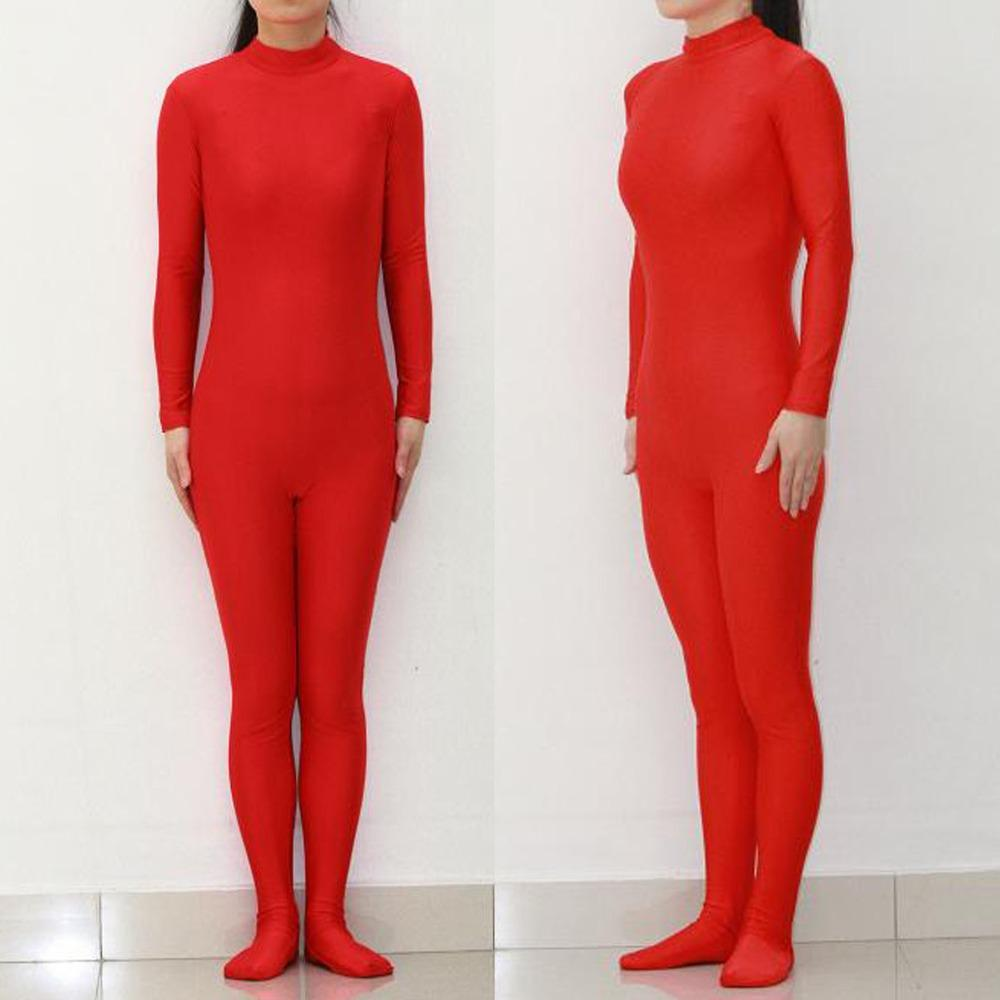 Adult footed bodysuit