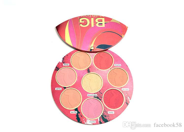 2018 NEW Makeup Face Brand BIG Blush Book Volume Cosmetics Highlighter Powder & Blush Palette Cheek Makeup Palettes