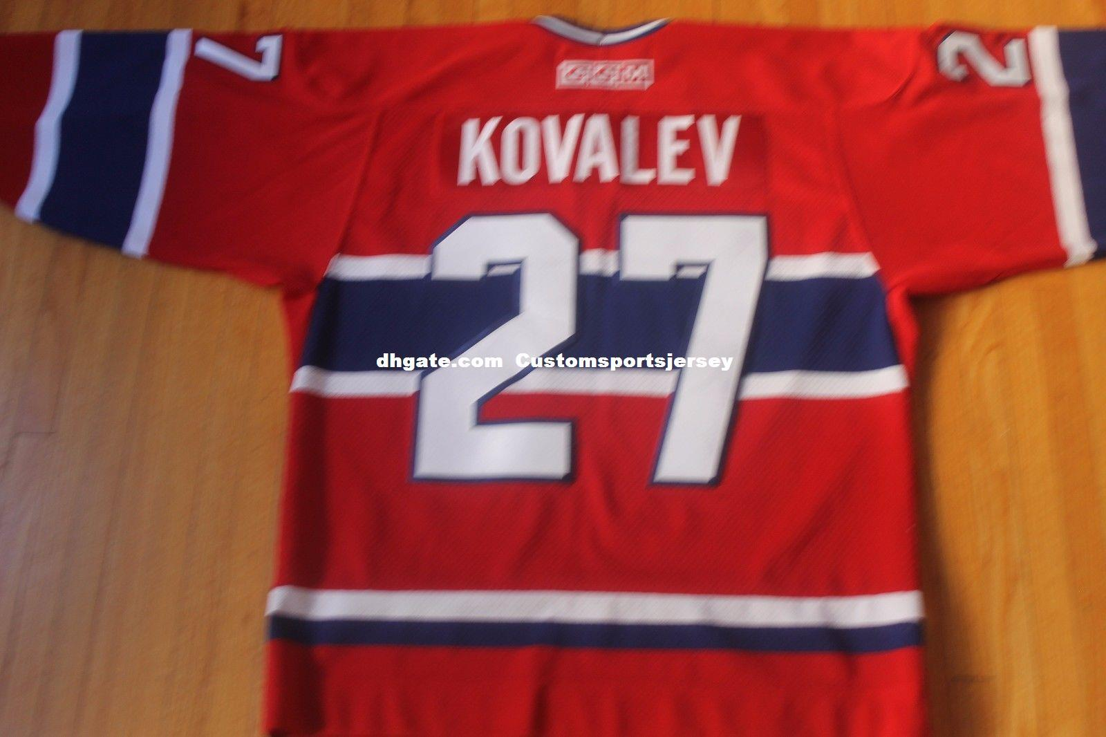c9f06d3abc9 ... france 2018 cheap custom vintage alexei kovalev hockey jersey montreal  canadiens russia mens personalized any name