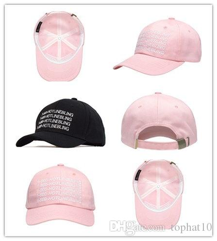 39bf5ee6b0a67 Top Sale Wholesale And Retail Outdoor Visor Pink 1 800 HOTLINEBLING  Strapback Hats 6 Panel Snapback POLOs Baseball Cap DENIM HAT Cool Caps Flat  Brim Hats ...