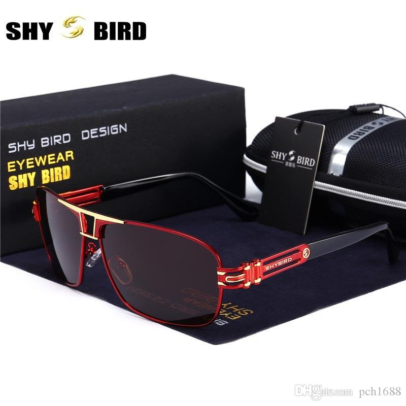 7cc573638b7 SHYBIRD Fashion Polarized Sunglasses Men Women Luxury Brand Designer ...