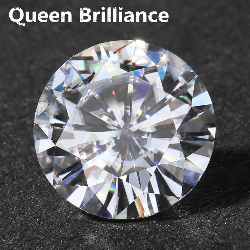 Wholesale 8 Carat ct 13MM No Less Than G/H Moissanite Loose Stone VVS2 High Quality Test Positive Lab Grown Diamond
