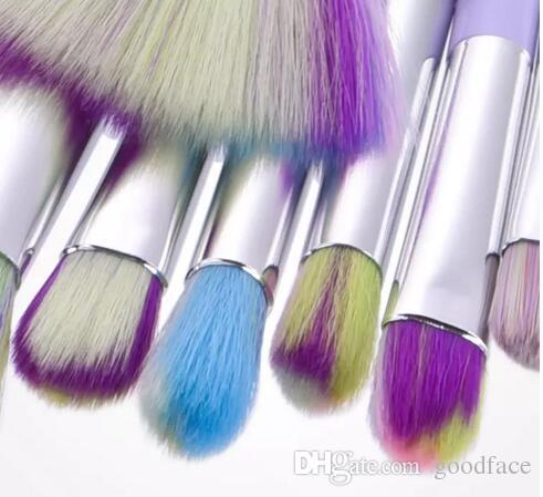 Usine Directe DHL Gratuit Unicorn Pinceaux De Maquillage Maquillage Brosses Outils Tech Professionnel Beauté Cosmétiques Pinceaux Ensembles nouveau chaud