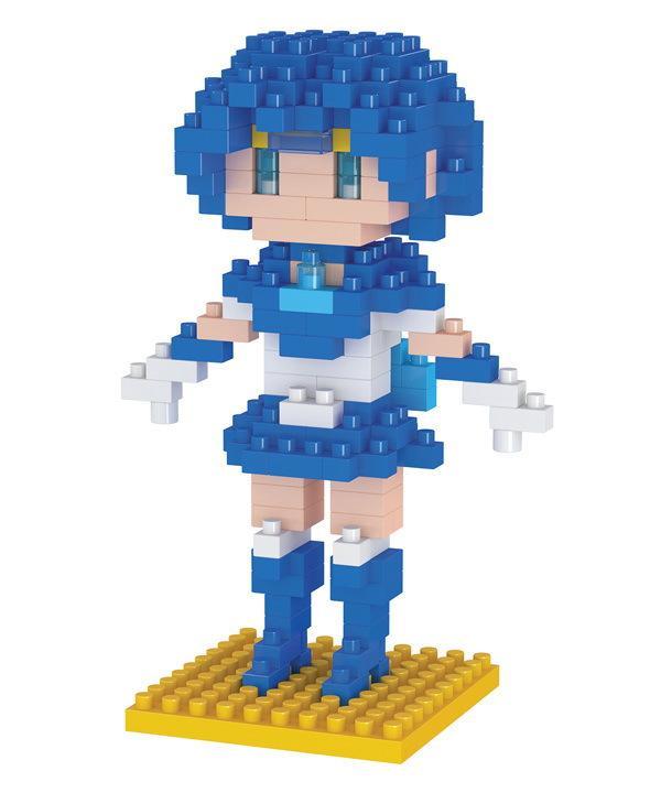 Mini Figures Blocks LOZ Diamond Bricks Building Blocks Set Sailor Moon Toys Diamond Blocks Educational Toys Gift for Girls