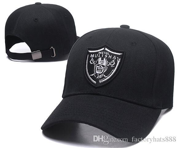 5c8c592ca97 New Metal Snapback Cool Designer Snap Back Cap   Hat Mulisha ...