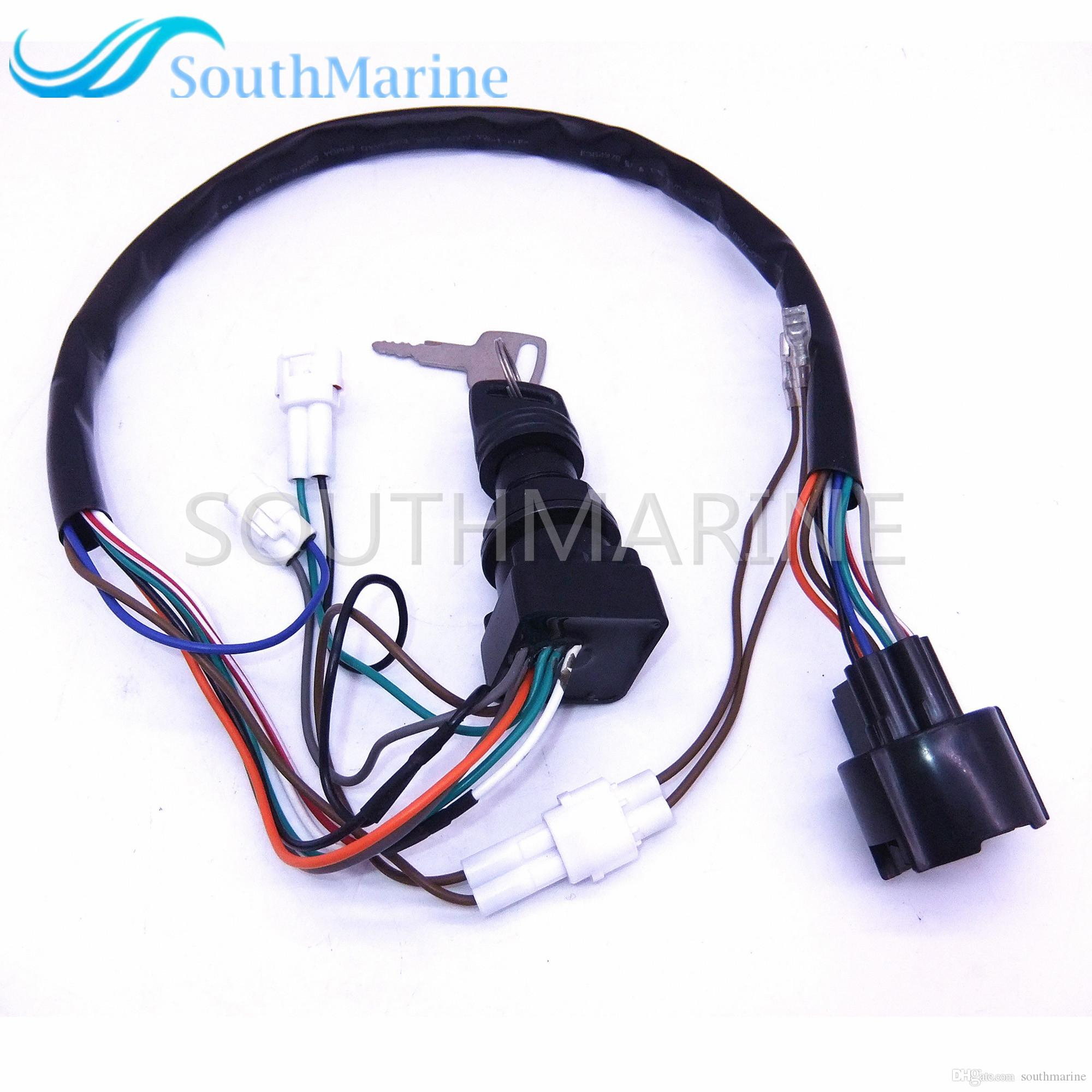 37110 93j00 93j01 Boat Motor Ignition Switch Assembly For Thread Wire Help Suzuki Outboard Motors Online With 7984 Piece On