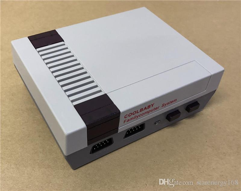 DHL Coolbaby Yeni Varış Mini TV Oyun Konsolu NES oyunları için Video El konsolları ile perakende kutuları B-JY