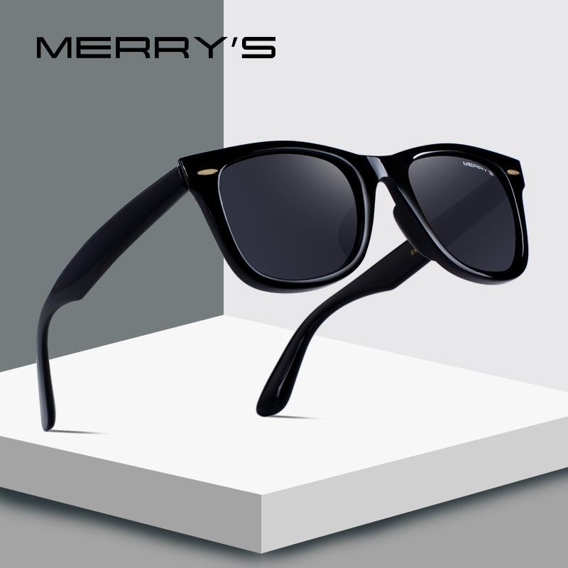a92e2e4767 MERRY S DESIGN Men Women Classic Retro Rivet Polarized Sunglasses 100% UV  Protection S 8140 Prescription Glasses Online Round Glasses From Gocan