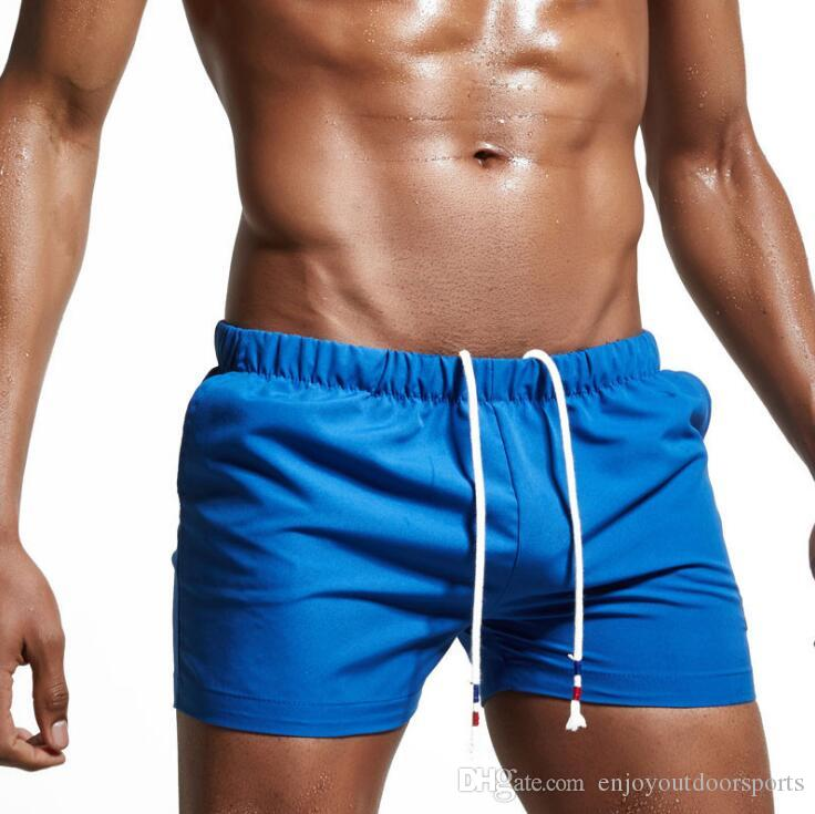 Men Swimwear Shorts Trunks Beach Board Shorts Boxers Short Swimsuits Mens Shorts Men's Clothing