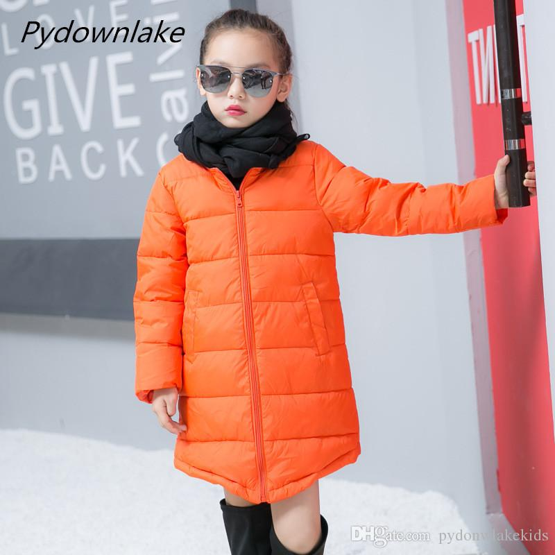 e3de7018a4a1 Down Parkas Coat Duck Down Children 2018 New Baby Girl Winter Coat ...