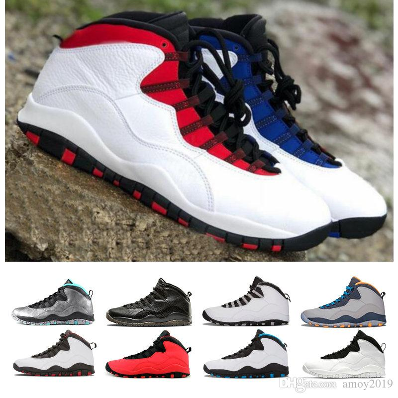 new product 00376 f63d8 2018 New 10 Westbrook Red Blue I M Back White Black Men Basketball Shoes  10s High Quality Sports Mens Trainers Sneakers Size 41 47 Basketballs Shoes  Mens ...