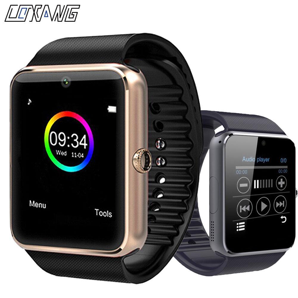 dd63e79de26 Compre Coxang Gt08 Smart Watch Crianças Homens Crianças Relógio Telefone Sim  Card Câmera Relógio Smartwatch Gt 08 Conectar Android Ios Pk A1 De  Beauteous