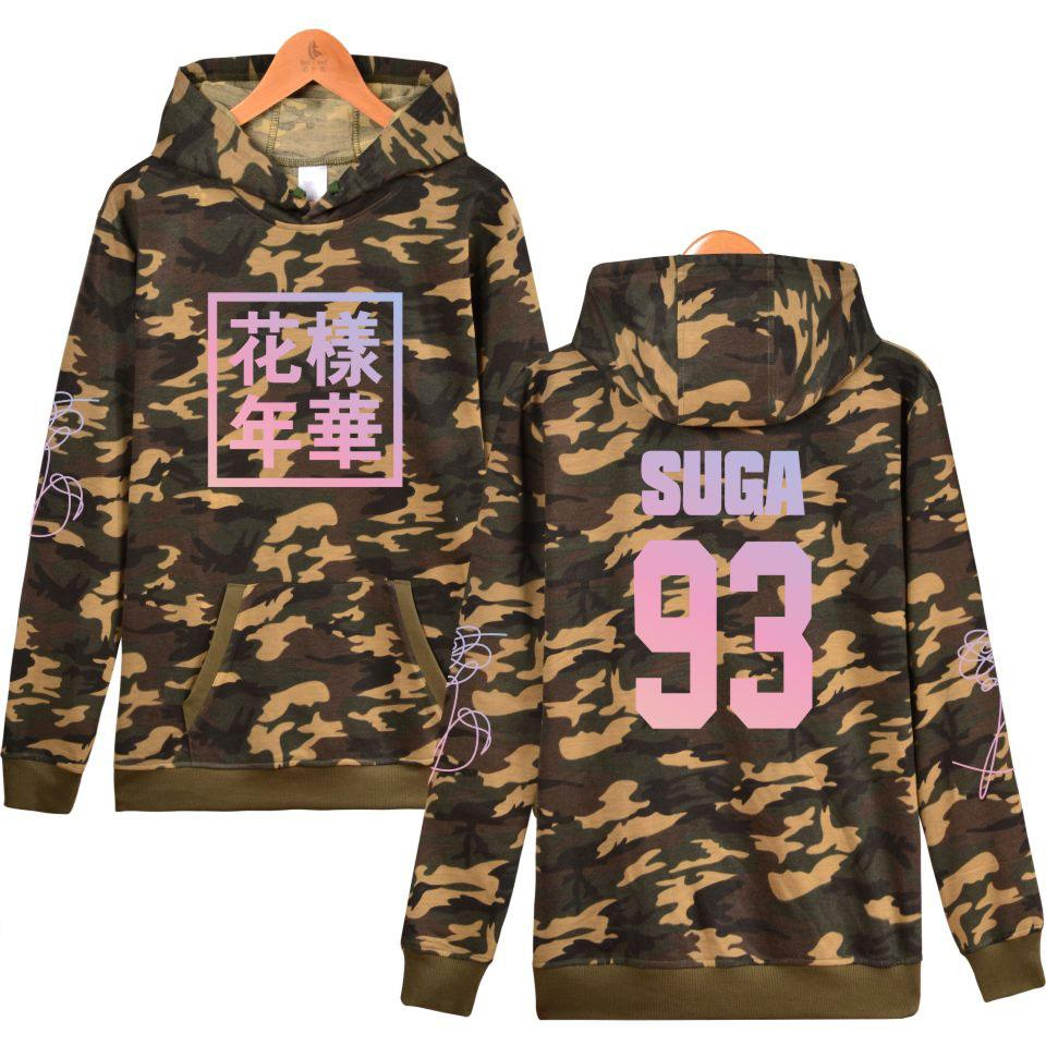 Boys Young Forever Hoodie Sweatshirt Camouflage Women Khakicolor Hoodie Sweatshirt Fashion Pullover
