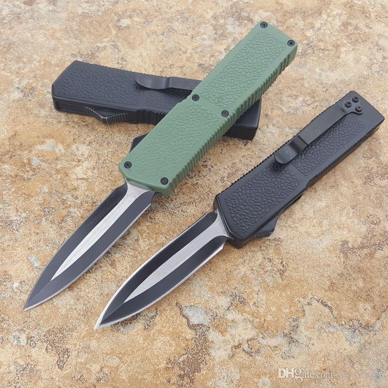 Más nuevo mi tech Lightning knife 6 Opciones de supervivencia para acampar cuchillos de caza cuchillos copias ZT Ben 1 unids envío gratuito