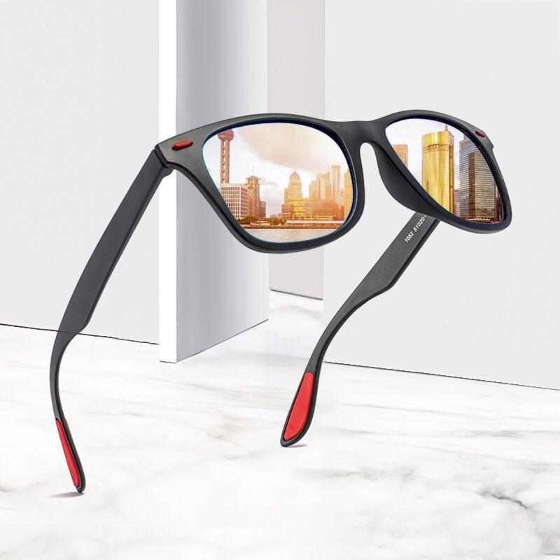 Compre Long Keeper Ciclismo Condução Óculos De Sol Das Mulheres Polarizada  UV400 Homens Eyewear Masculino Espelho Reflexivo Bicicleta Preto Vermelho  Óculos ... 0fde35c0bd