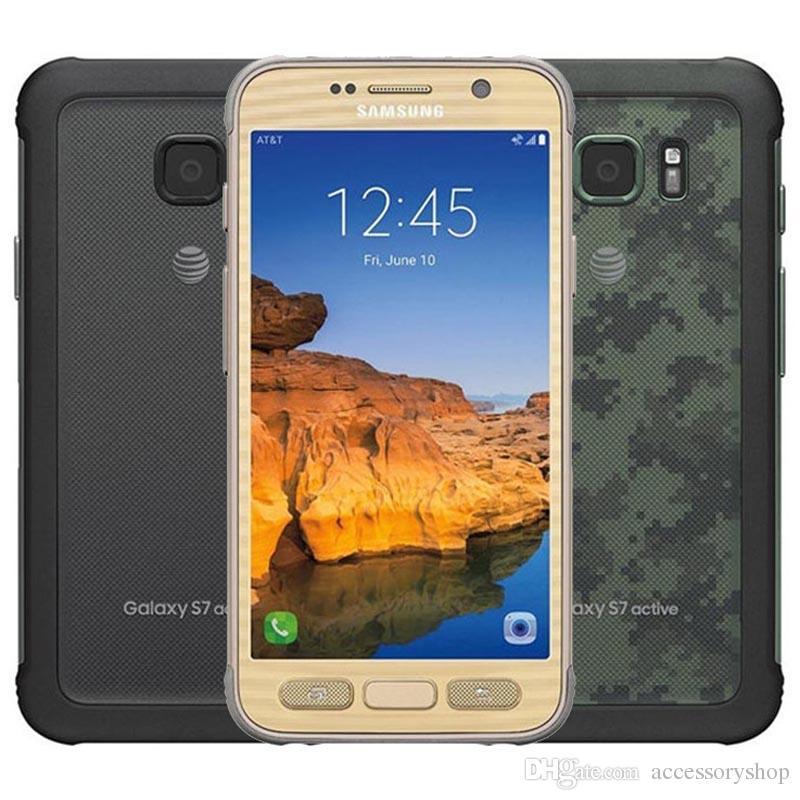 f9de7076143 Selulares Reacondicionado Original Samsung Galaxy S7 Active G891A Rugged  Phone 5.1 Pulgadas Quad Core 4 GB RAM 32 GB ROM 12MP Desbloqueado Teléfono  ...