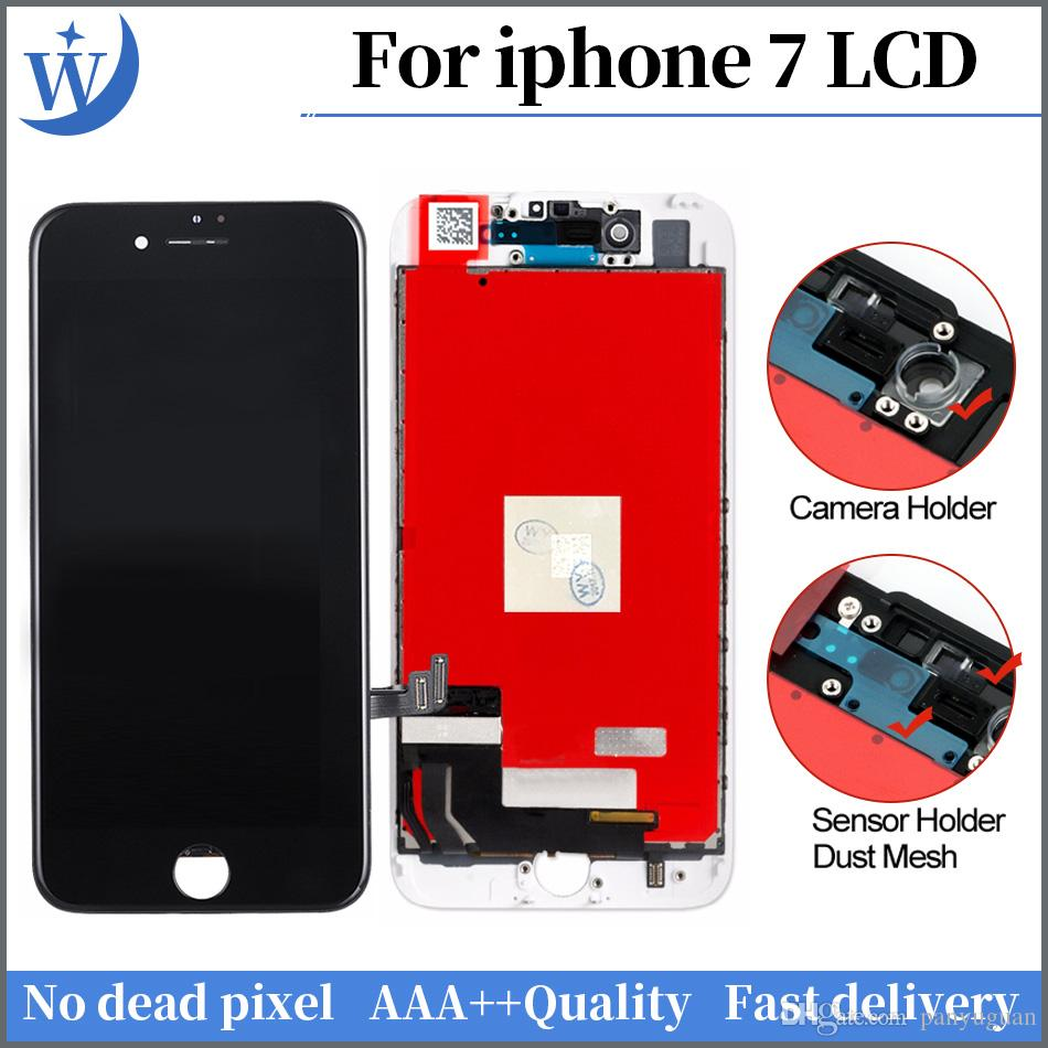 AAA+++ High Quality For iPhone 7 LCD Display Touch Screen Digitizer  Assembly No Dead Pixel+Free DHL
