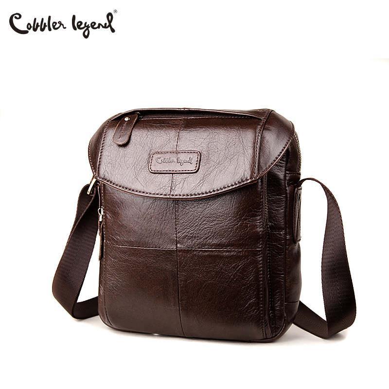 b015260f8d Cobbler Legend Genuine Leather Men Bags Casual Men s Messenger Bag Shoulder  Crossbody Bag Male Men Leather Designer Handbags Designer Handbags Handbag  ...