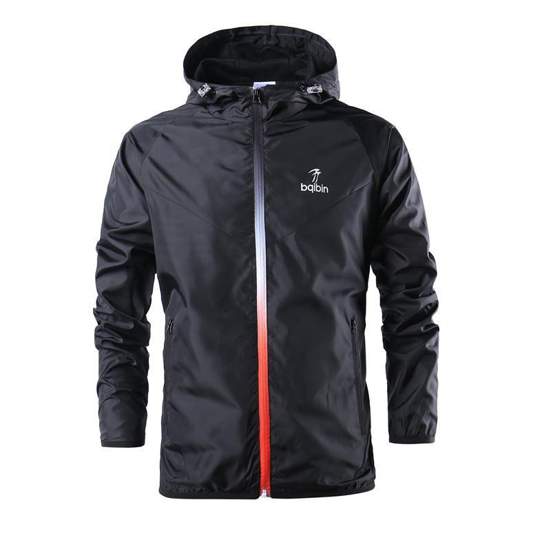 41f1000bc1d30 New Hot Sale Mens Windbreaker 2018 Spring Hooded Mens Jacket Youth Casual  Windbreaker Running Training Suit Designer Jacket On Sale Men Coat Jacket  Mens ...