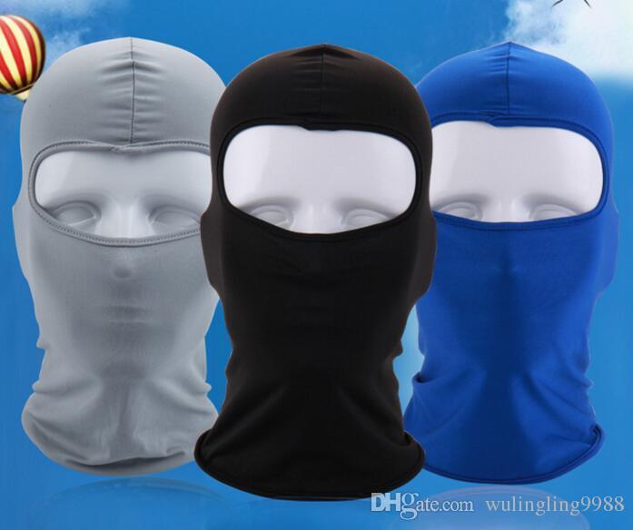 Máscaras de ciclismo de bicicletas de la motocicleta Barakra gorras de ciclismo deporte al aire libre Máscara de esquí CS a prueba de viento cabezas de polvo establece camuflaje Máscara táctica 30 piezas