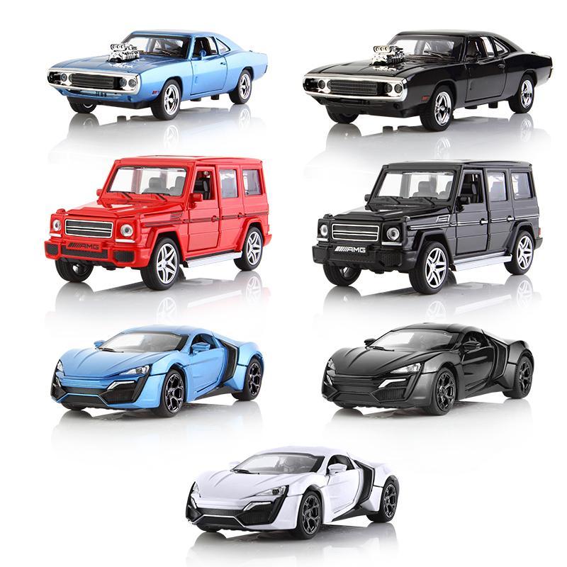 Acheter Mini Auto 132 Dodge Benz Amg Pull Back Voiture Moulée Sous
