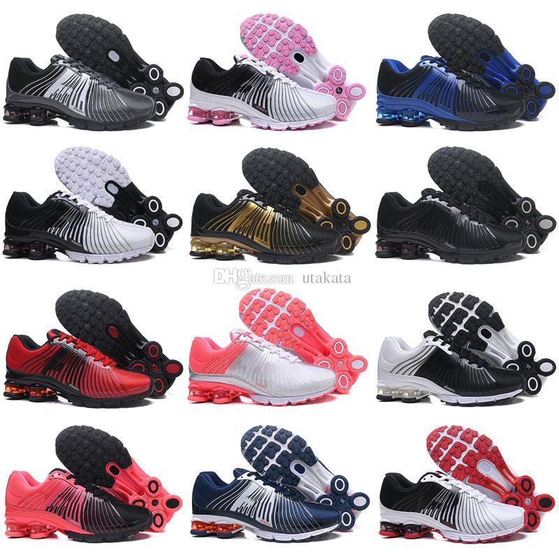 new product 7e7b4 8b0e1 Acquista New Designer Shox 625 Uomo Donna Running Shoes Drop Shipping Shox  DELIVER OZ NZ Mens Athletic Sneakers Sport Scarpe Da Ginnastica Taglia 36  46 A ...