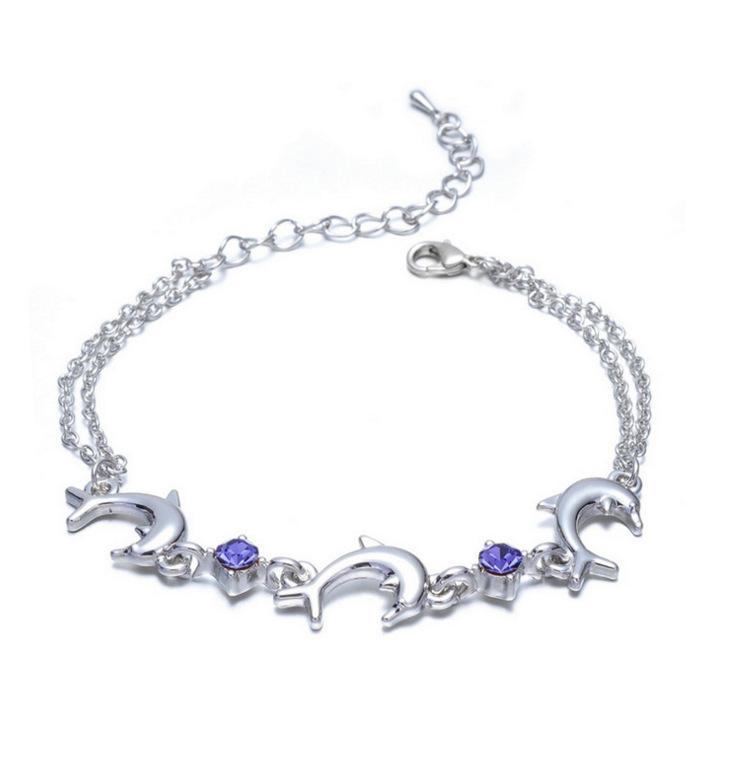 Jewelry Sets & More Women Anklet Simple Seashell Design Ankle Bracelet Elegant Foot Bracelet Bangle Charm Jewellery Gift For Birthday Festival Gold