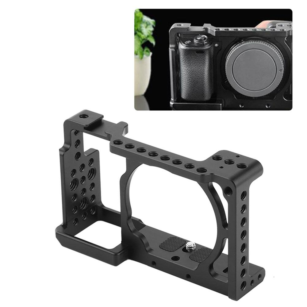 Video Camera Cage Stabilizer Rig Protective Case Cover For Sony L Plate Bracket Kamera Alpha A6000 A6300 Nex7 Ildc To Mount Microphone Monitor Tripod Light Online With 8093 Piece On