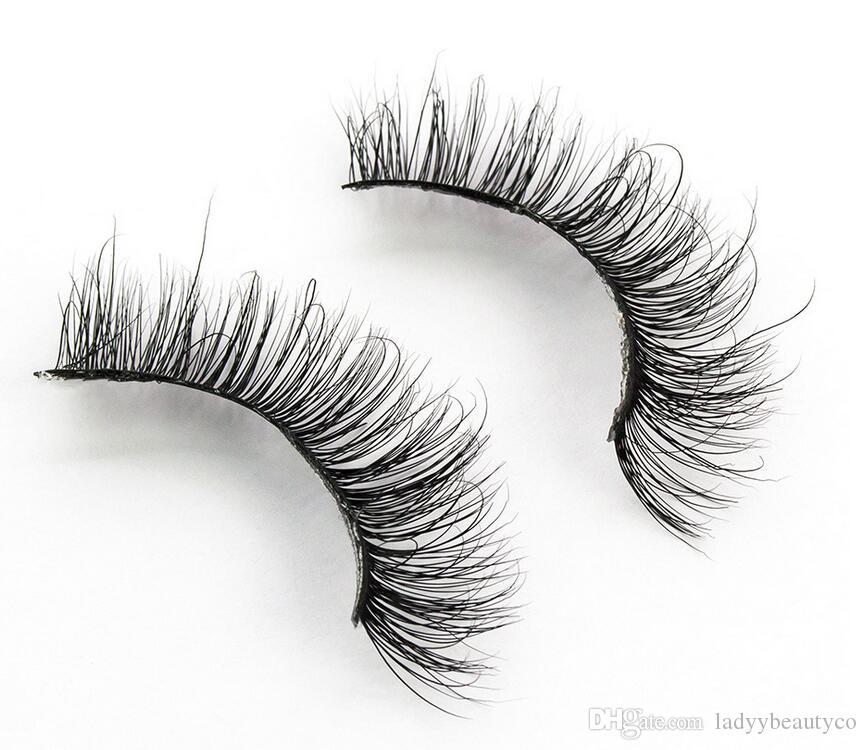 3D-MA05 3D mink eyelash 100% real mink Handmade crossing lashes thick full lashes