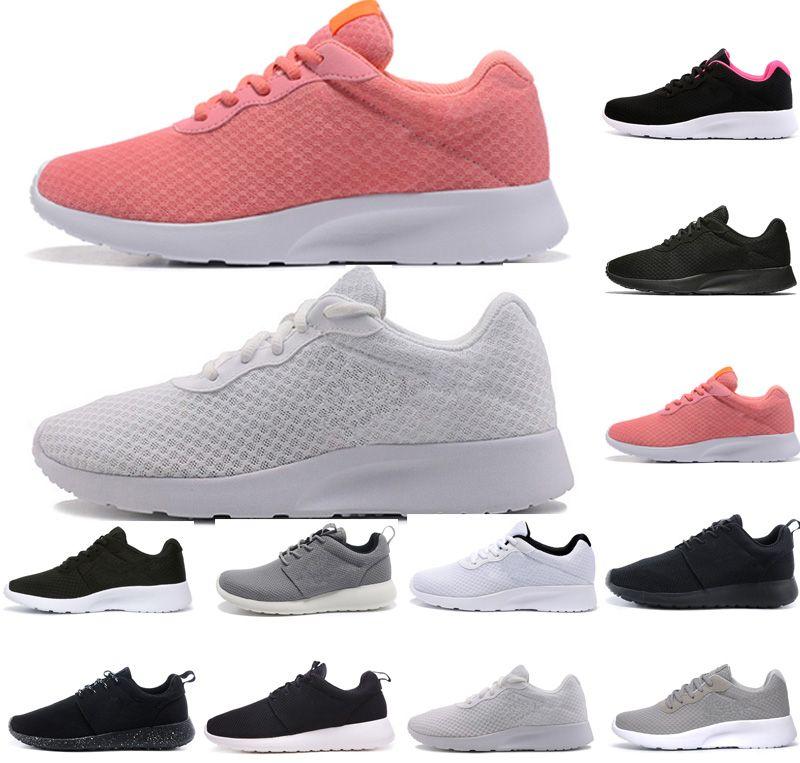 size 40 19f9b 28782 Acheter Nike Air Roshe Run One Tanjun London 3.0 1.0 Run Hommes Femmes  Chaussures De Course Olympiques Triple Noir Rose Symbole Rouge Blanc Gris  Bleu Hommes ...