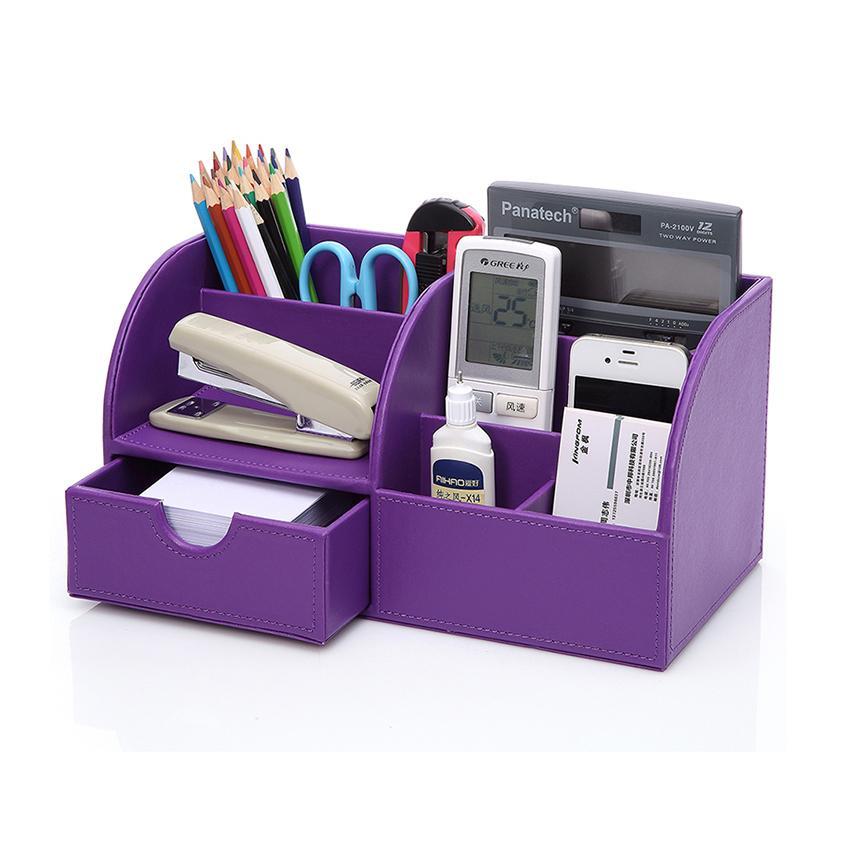Desktop Organizer Stationery Storage Box Pencil Holder For Desktop