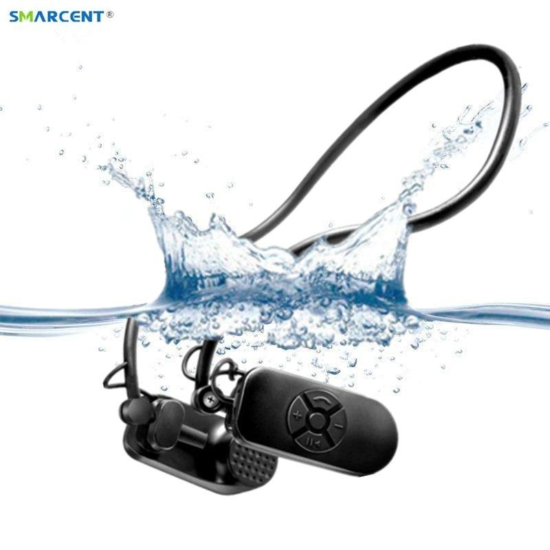 2017 Newest APT-X Bone Conduction 4G 8G HIFI MP3 Player IPX8 Waterproof Swimming Outdoor Sport Earphones USB MP3 Music Players