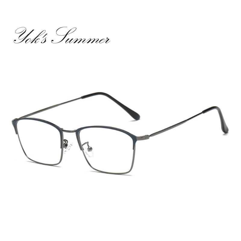 11cf46b87 Yok's Summer Anti Blue Ray Computer Glasses Women Rectangle Retro ...