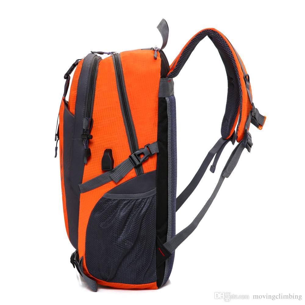45L Outdoor Sport nautici Rafting Bag Camping Beach Borsa da arrampicata impermeabile Stoccaggio secco Borse tracolla regolabile